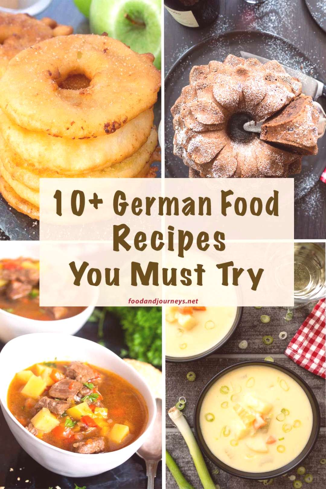 10+ German Food Recipes You Must Try A collection of authentic and not-so-traditional German recipe