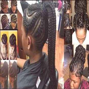 Best Ghana Braids Hairstyles : Trendy And Perfect Styles For Ladies ...