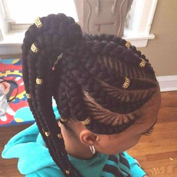 30 Cool Ghana braids to inspire you - Hair Style 2019