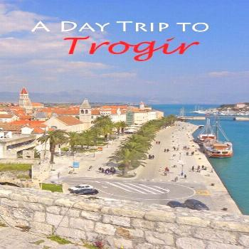 A Day Trip to Trogir, Croatia - The Travels of BBQboy and Spanky -  A visit to Trogir, a Unesco Wor