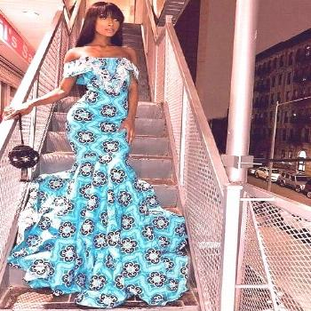 African Print statement dresses for women  Top Ankara fashion long dresses for spring and summer