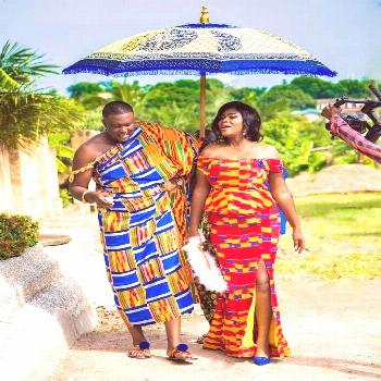 Bold and colourful Ankara fashion outfits for couples  Kente and kitenge fashion dresses for weddin