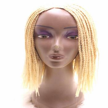 Braided Wig, Ghana Box Braided Wigs, Available In 99J Black and platinum blonde  , , boxbraidwig