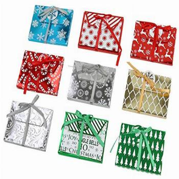 Christmas amp Holiday Foil Decorative Wrapped Gift Card with