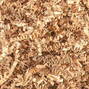 Crinkle Cut Paper Shred Filler (1 LB) for Gift Wrapping &