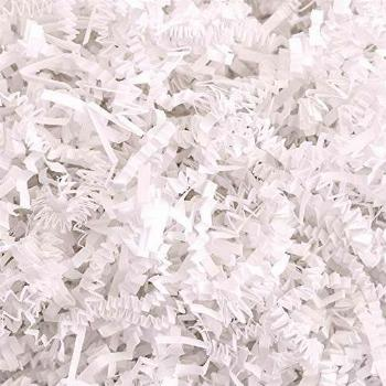 Crinkle Cut Paper Shred Filler (2 LB) for Gift Wrapping &