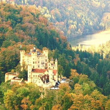 """Das Schloss Hohenschwangau (""""pper Swan County Palace"""") is a 19th-century palace in southern Ger"""