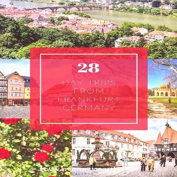 Day trips from Frankfurt am Main, Germany Whether you're longing to explore medieval castles, win