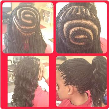 Don't Know What To Do With Your Hair: Check Out This Trendy Ghana Braided Hairstyle ⋆ African..