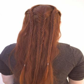 Don't Know What To Do With Your Hair: Check Out This Trendy Ghana Braided Hairstyle#braided