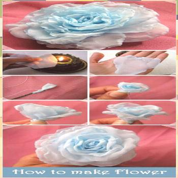 Embroidery Ribbon Diy Fabric Flowers 65+ Ideas decorating fashion gifts flowers handmade wrapping h