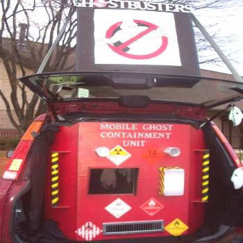 Epic Ghostbusters Costume and Trunk#costume