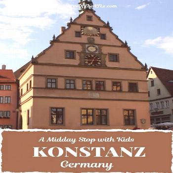 Germany with Kids: A mid-day stop in Konstanz Konstanz is a wonderful German lake town and makes a