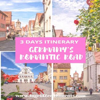 Germany's Romantic road 3 day drive - IngridZenMoments Germany travel destinations to see while you
