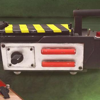 Ghost Trap Ghostbusters Prop Replica - Licensed, Original, Limited Edition Who you gonna call? Side