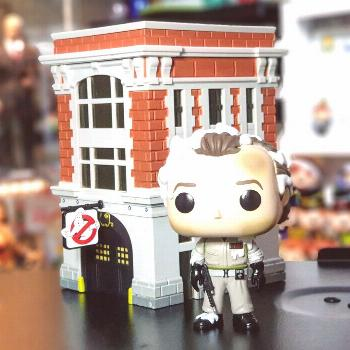 Ghostbusters - Dr Peter Venkman with  Firehouse (Pop Town) . .