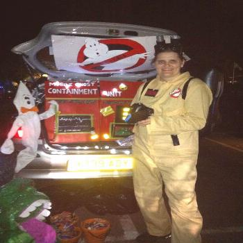 Ghostbusters trunk n Treat Auto ... 30 years ... auto ......#auto