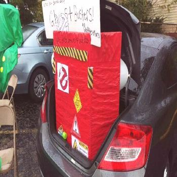 Ghostbusters Trunk or Treat Auto, we have 2nd place! ...#2nd