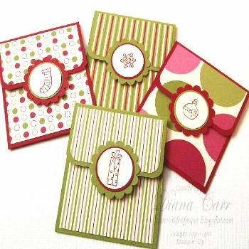 Instructions: Cuta piece of card stock to3 1/2