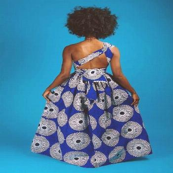Latest African Print dress Styles for weddings