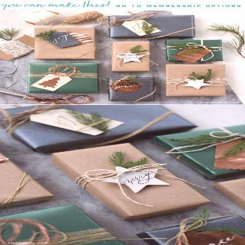 ?Love these Xmas Wrapping Ideas? Patterns & Templates for Unique Gift Tags That You Can Make