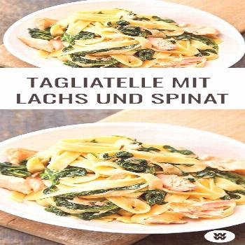 Tagliatelle with salmon and spinach recipe WW Germany -  Can't get enough of pasta? Then we have a