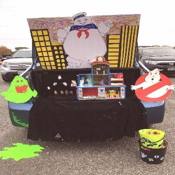 The latest snapshots Ghostbusters Trunk or Treat with a limousine ...#ghostbuste...#ghostbuste