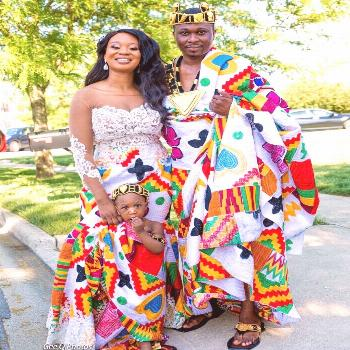 Traditional wedding clothing of Ghana - National Cultures, Tribes & Traditional Costumes