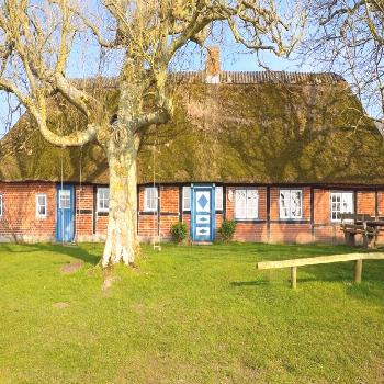 Willkommen-in-germany: An old farmhouse, somewhere in Schleswig-Holstein, Northern Germany -