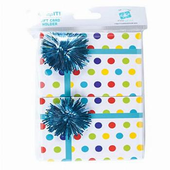 Wrap IT Mini Gift Card Holder Boxes, 2 Per Pack, 3.5 x 2.5 x