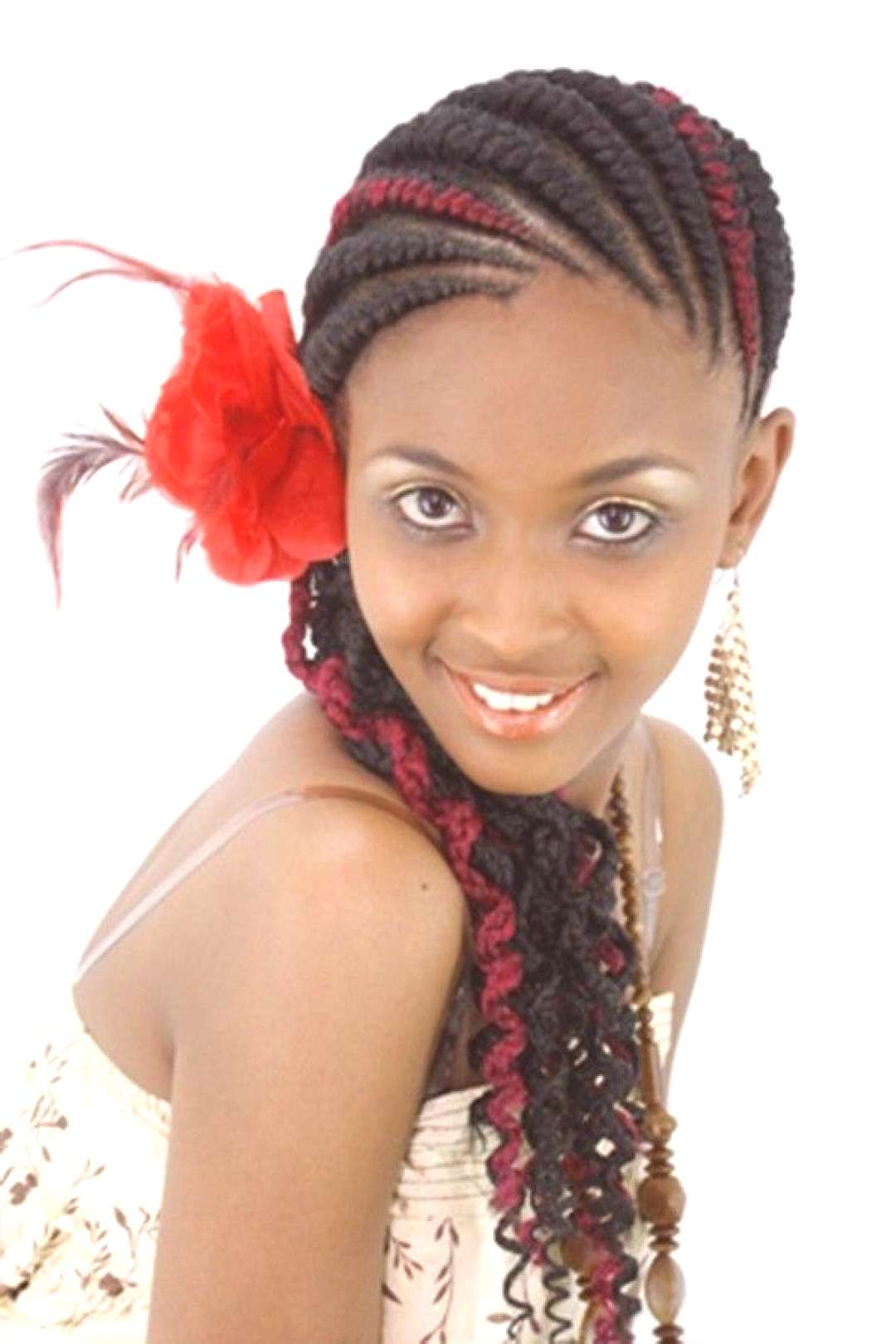 57+ Ghana Braids Styles with Pictures (2020 Trends)#braids