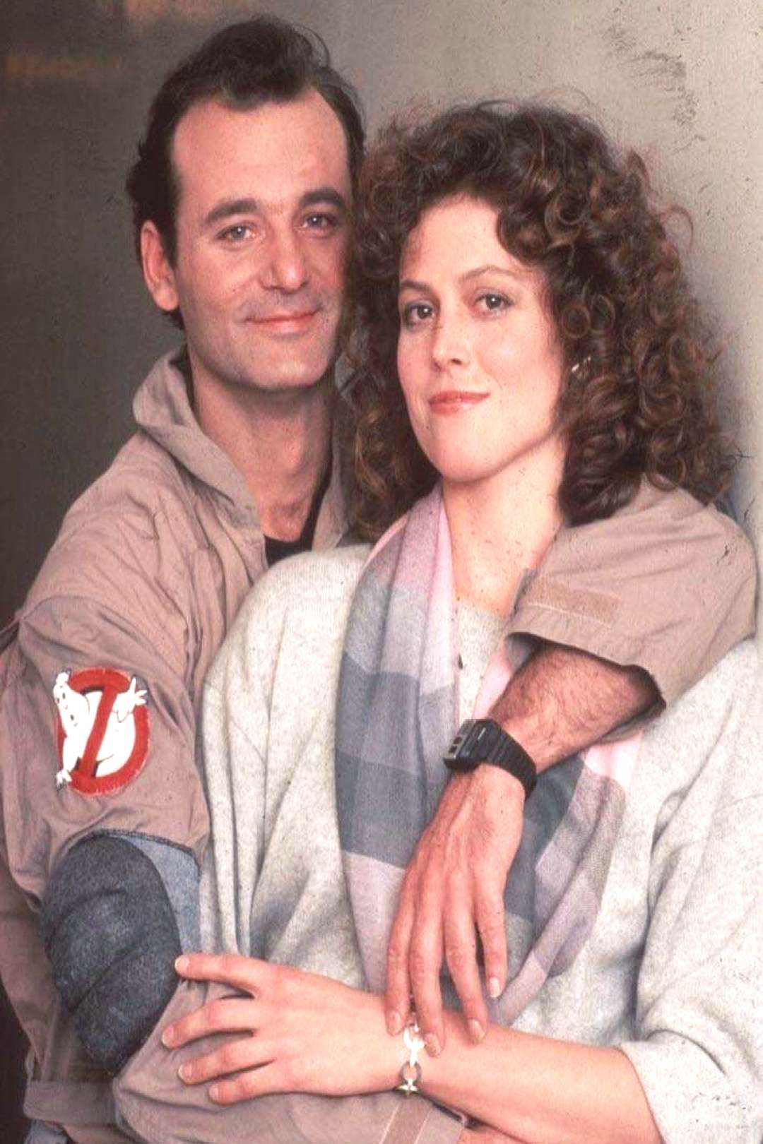 80s couple Bill and Sigourney . . .