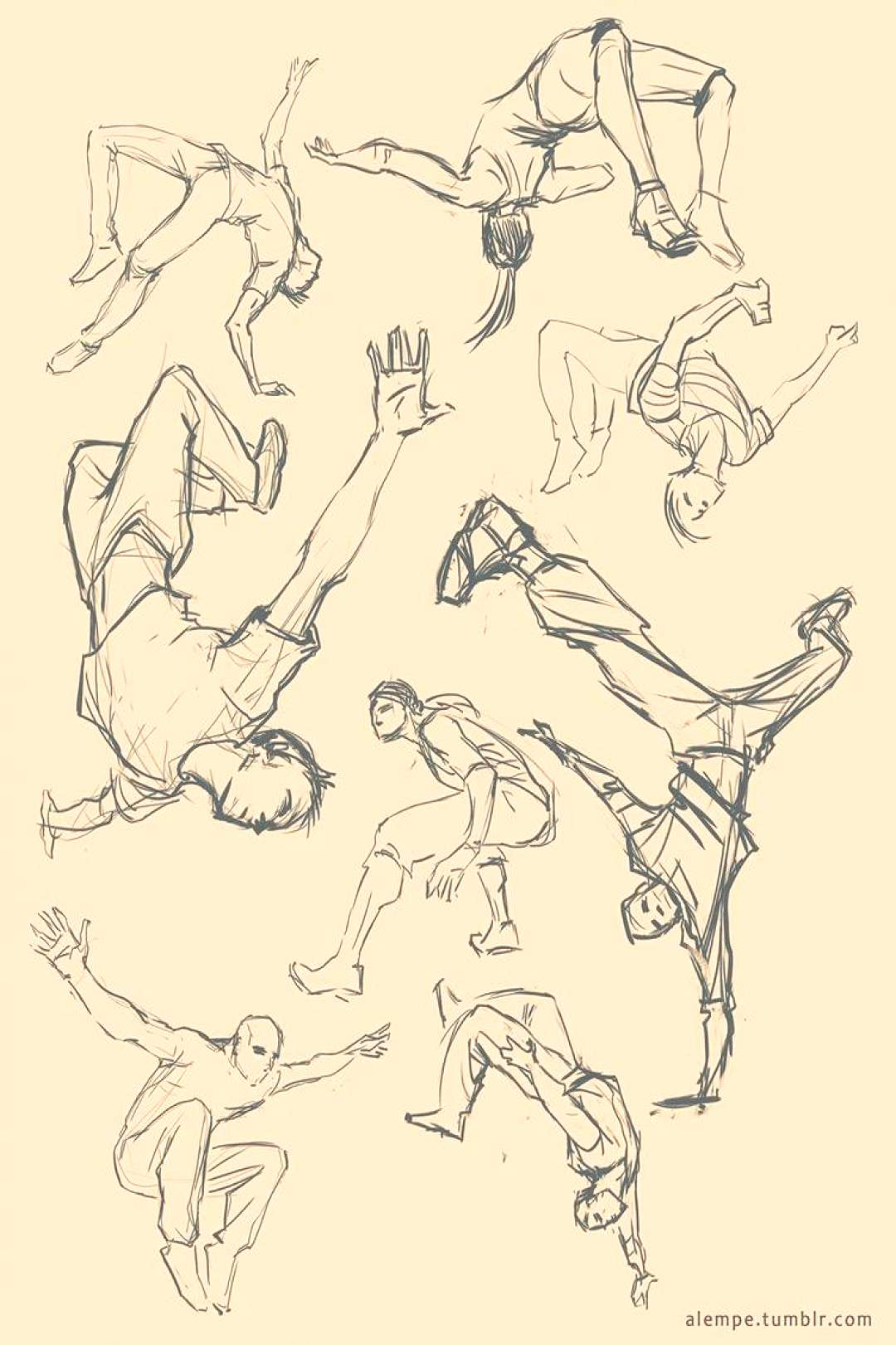 Action Poses by alempe