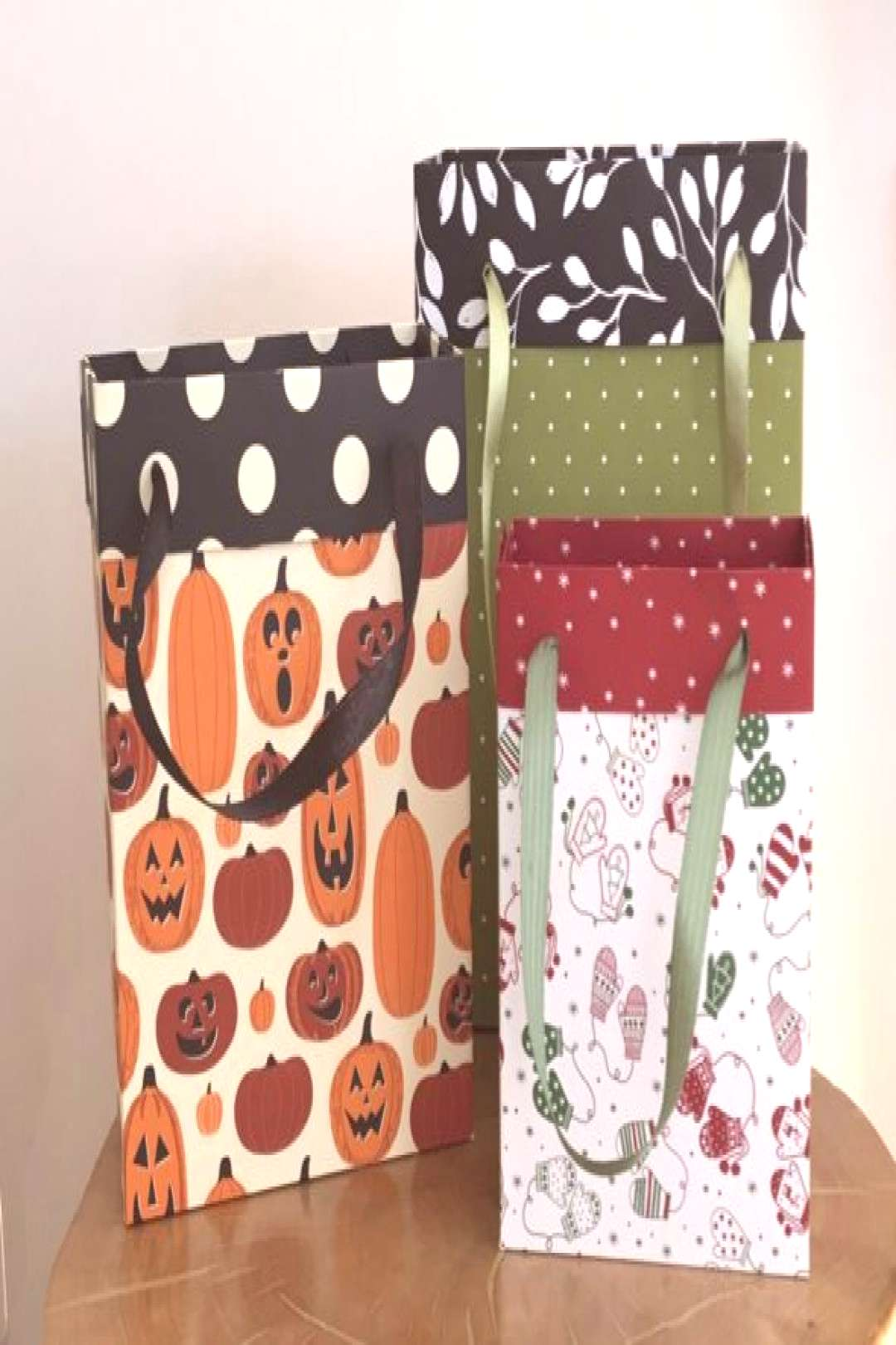 Any Size Gift Bag Video Amanda Fowler Inspiring Inkin Stampin Up! UK