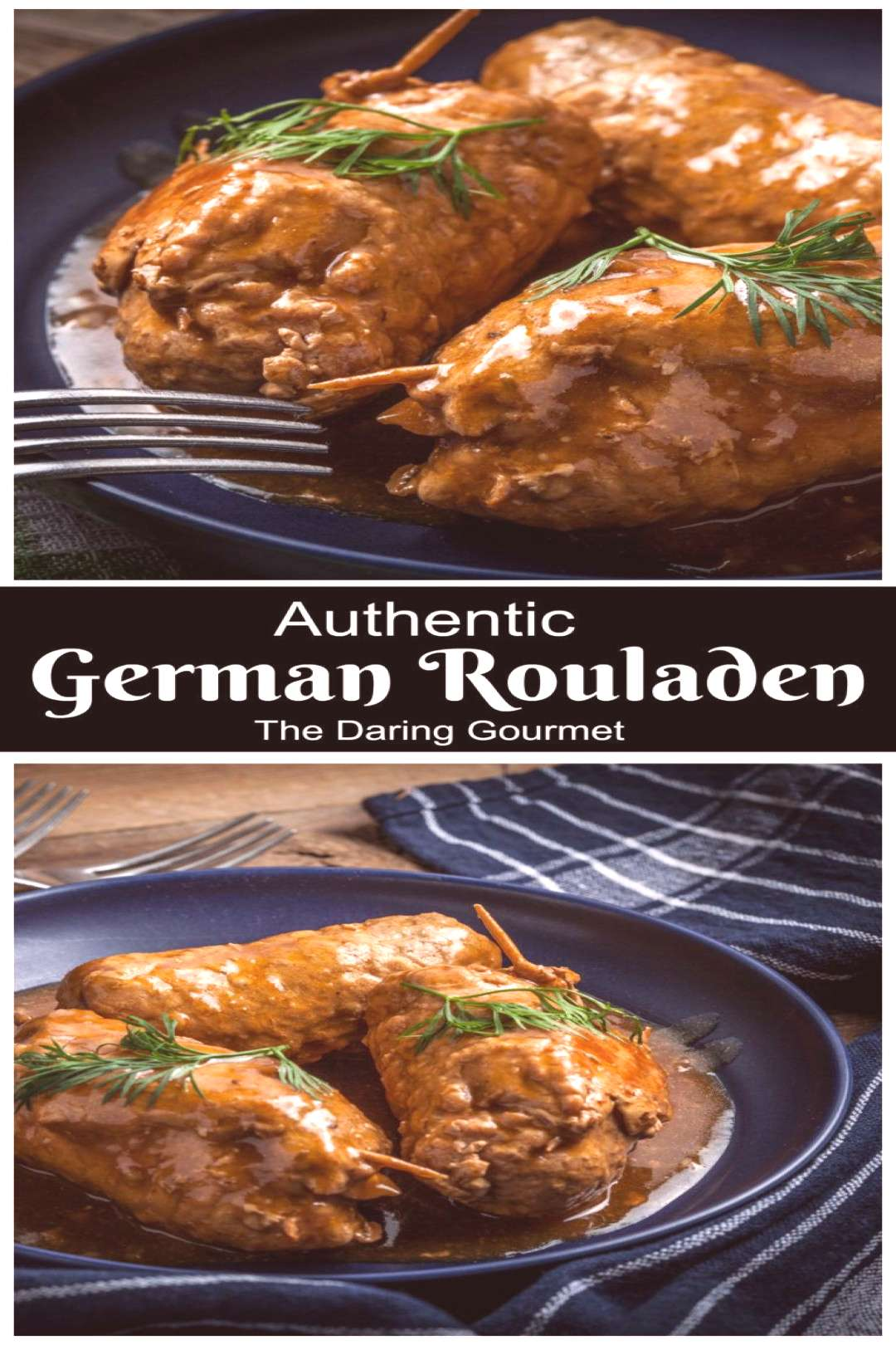 Authentic German Rouladen Recipe