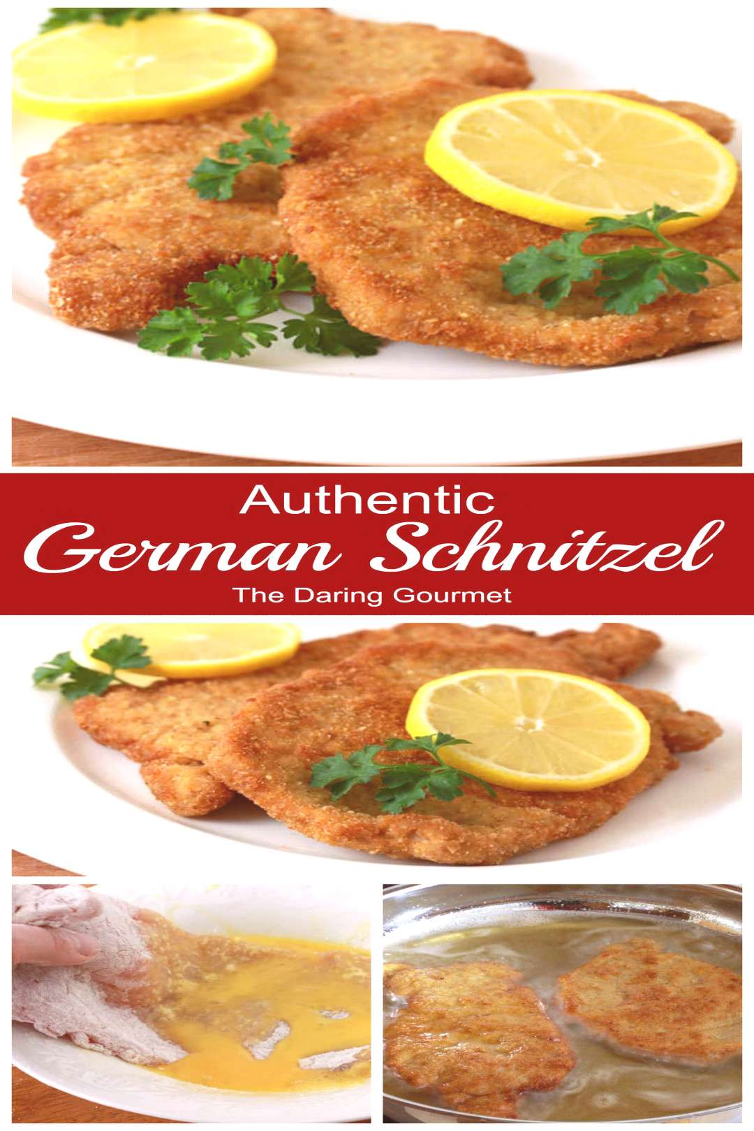Authentic German Schnitzel Learn how to make Authentic German Pork Schnitzel the way your favorite