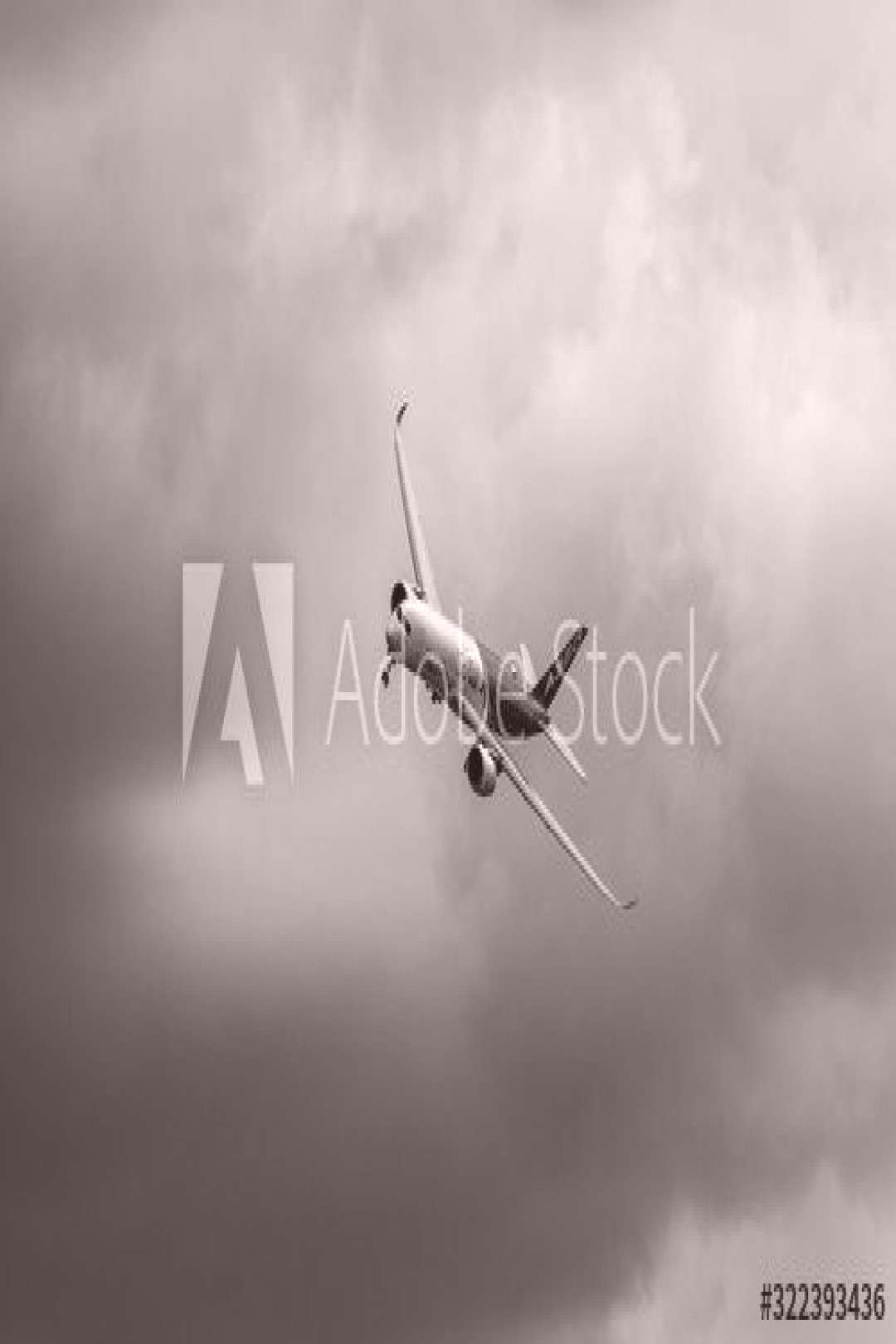 BERLIN, GERMANY - JUNE 02, 2016 Demonstration flight Airbus A350 XWB. Black and white. Exhibition