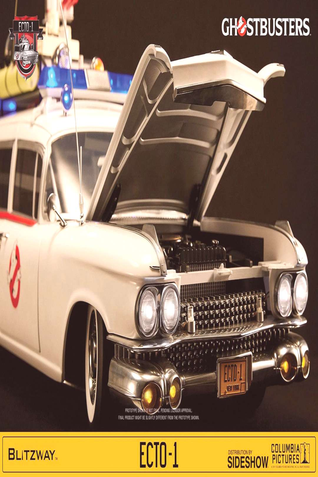 Blitzway 1/6 Scale Ghostbusters Ecto-1 Vehicle