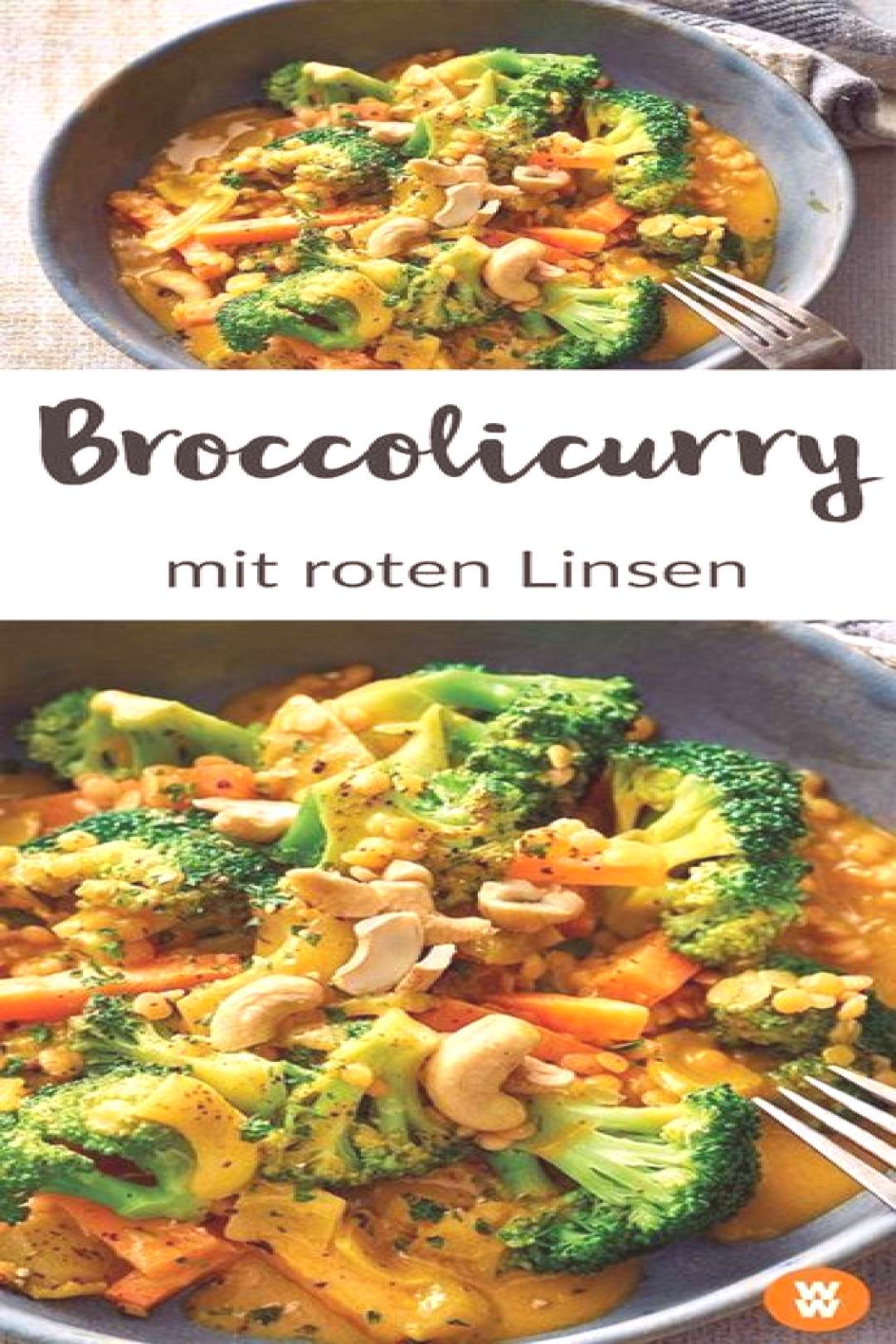 Broccoli Curry with Red Lentils Recipe WW Germany - WW Recipe I Broccoli Curry I Lentils I Vegetar