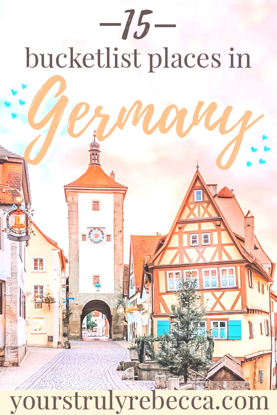 Fifteen Bucketlist Places In Germany Travel in Germany is easy amp there is lots to see. Check out th
