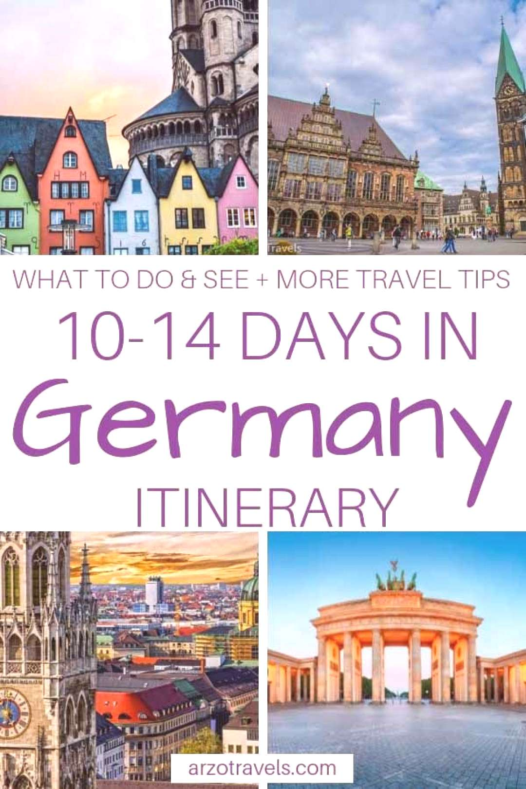 Germany Itinerary– Best Places to See and Visit in 10-14 Days