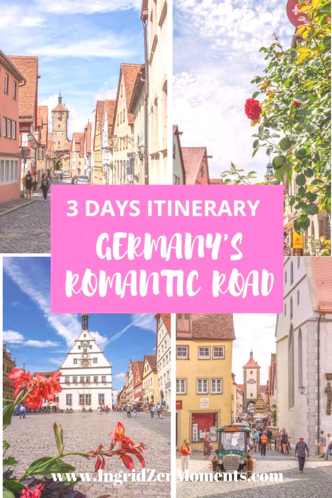 Germanys Romantic road 3 day drive - IngridZenMoments Germany travel destinations to see while you