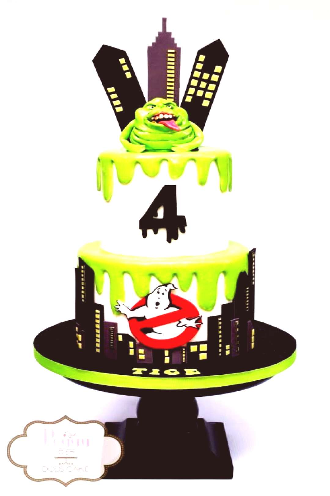 Ghostbusters Birthday Cake - Ghostbusters Party ideas Ghostbusters Birthday Cake – Ghostbusters