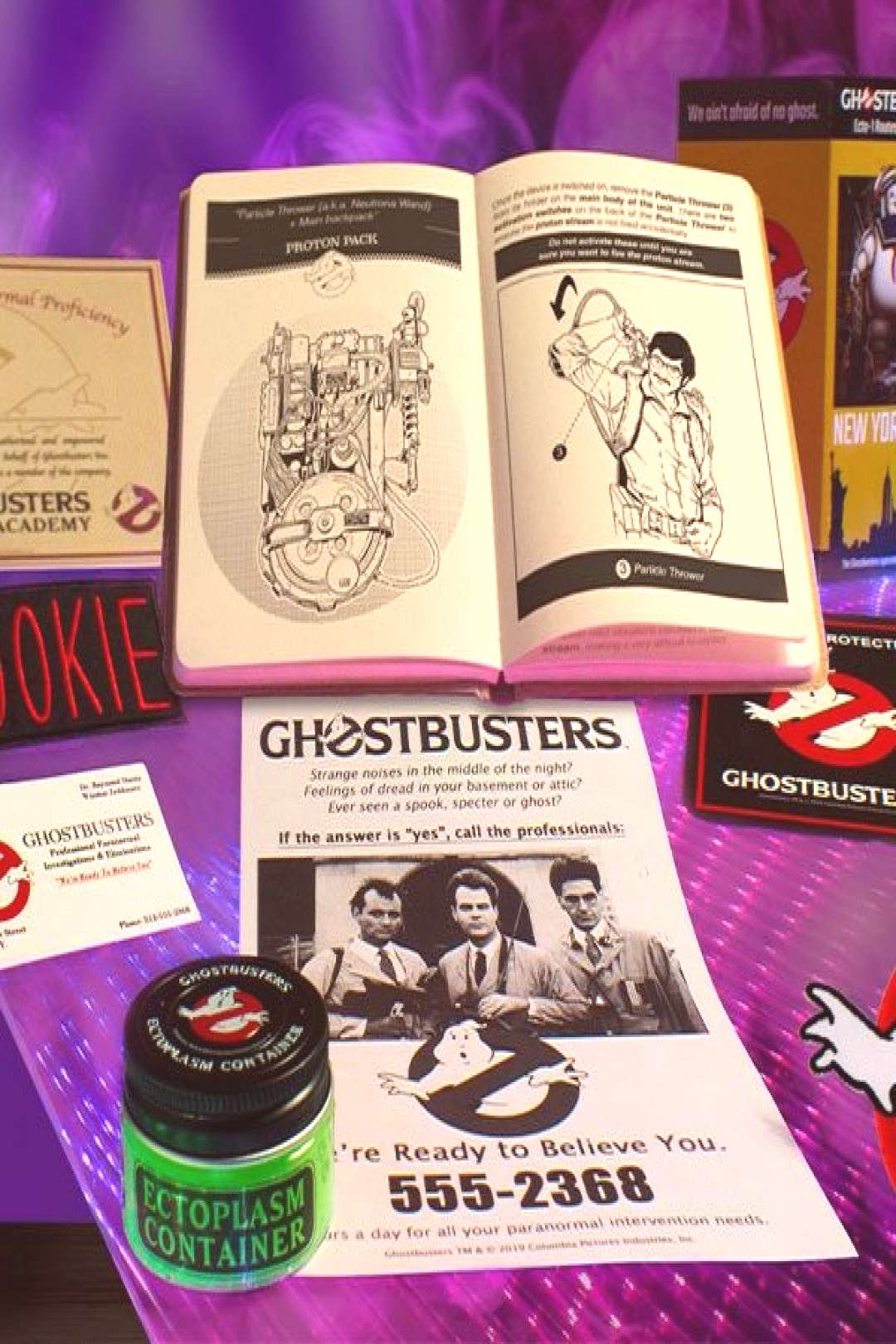 Ghostbusters Employee Welcome Kit Ghostbusters Collectible Set - Licensed, Original, Limited ... Si