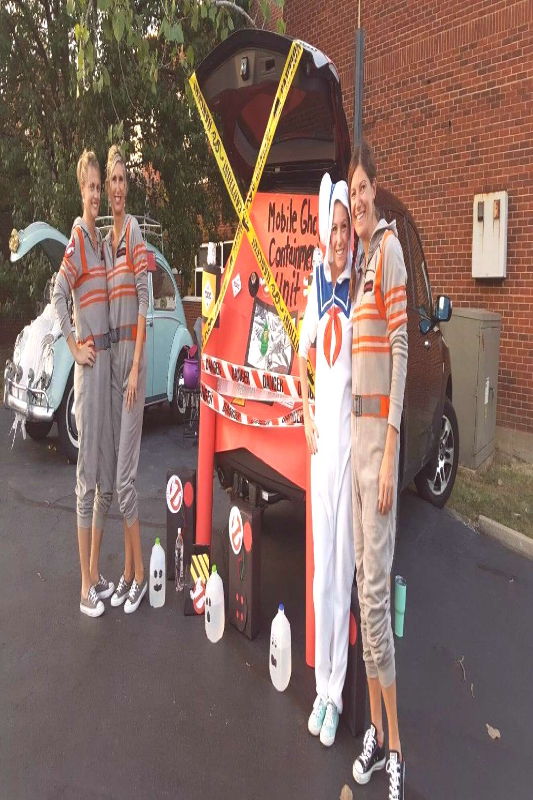 Ghostbusters Trunk or Treat.#ghostbusters