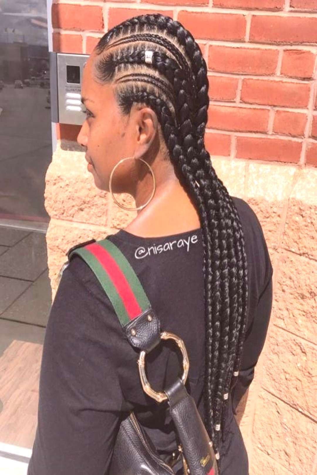 Gorgeous Ghana Braid Hairstyle Ideas To Try Out Soon 35 - Goddess braids hairstyles -
