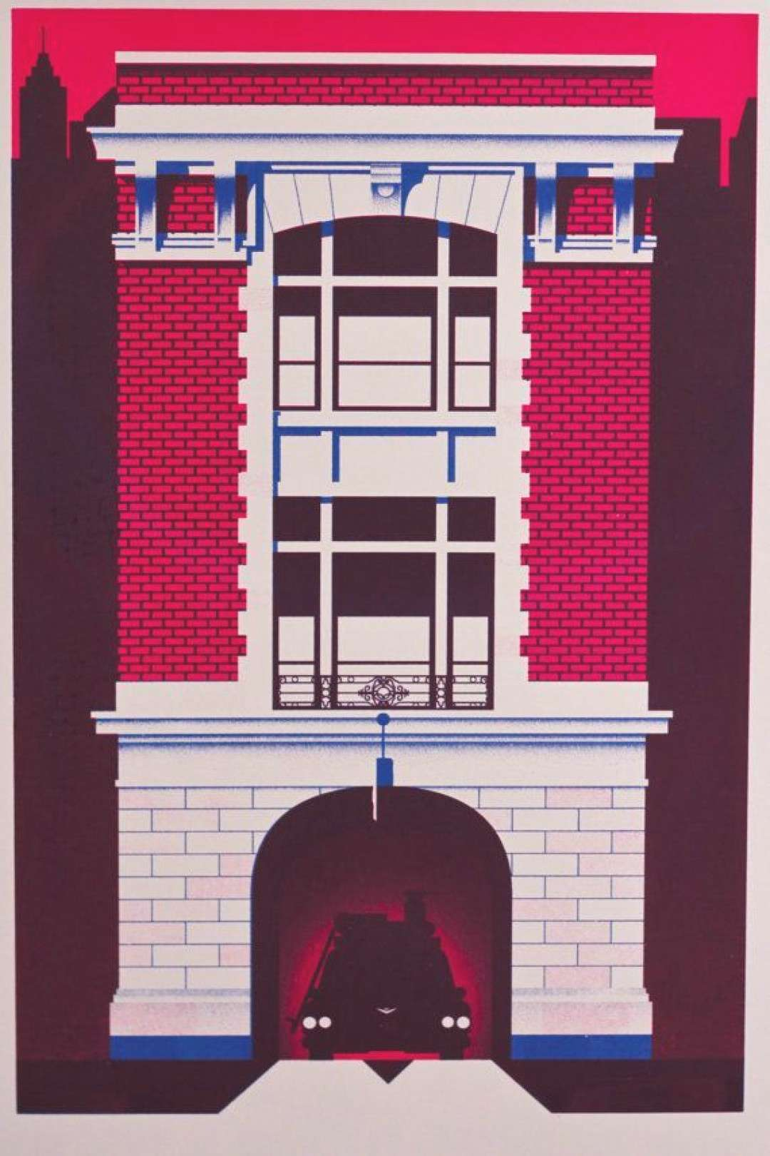 Items similar to Ghostbusters - 14 N Moore St Firehouse Print on Etsy#etsy