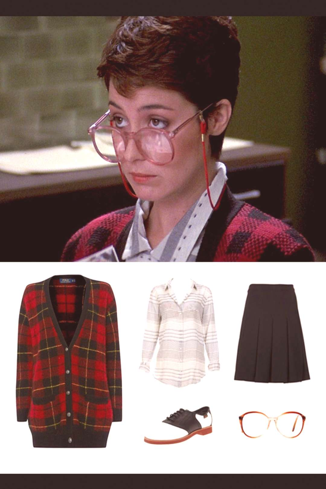 Janine from Ghostbusters (the original) - cute costume for short hair#costume