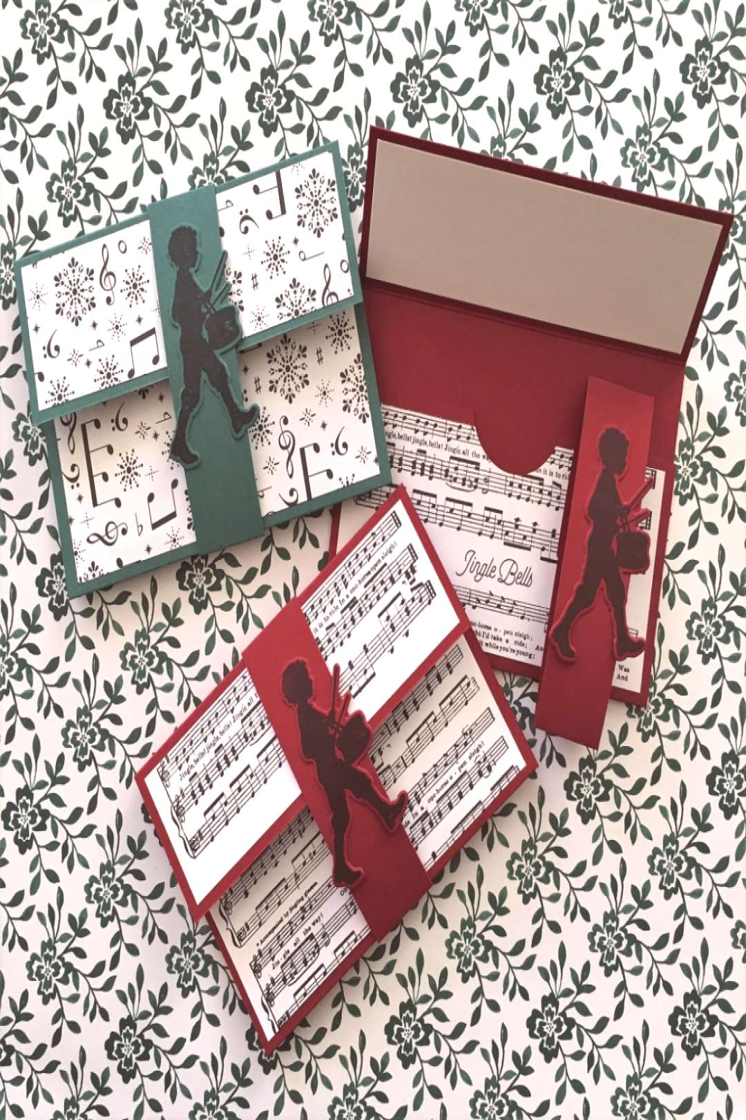 Last Minute Christmas Gift Card Holder - Aromas and Art