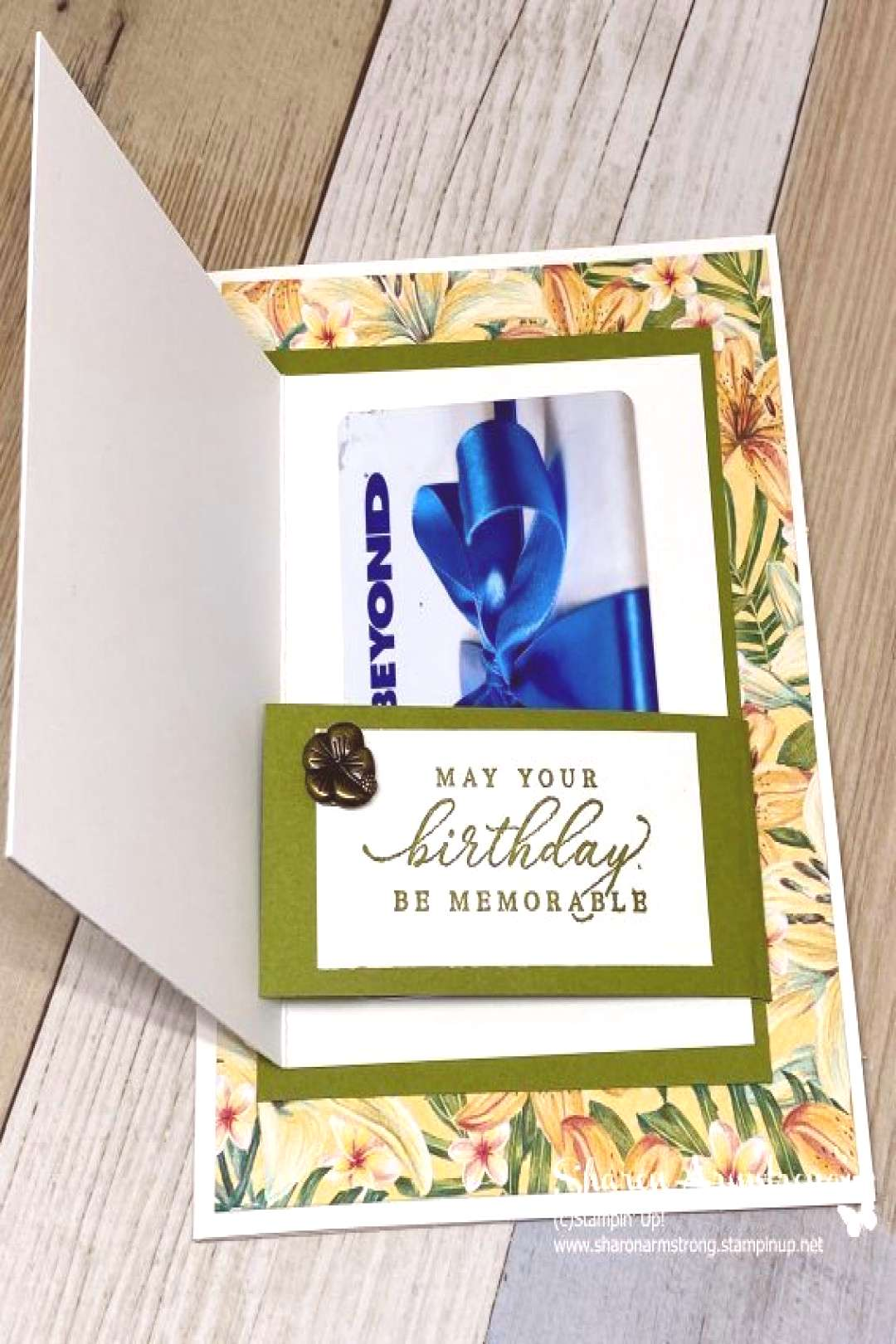 Need a Birthday gift card holder you can make in minutes? Your special person will love this uniqu
